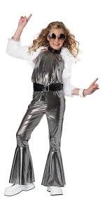 Disco, Dance Costume, Decade Costume, Costume for Girl's, 70's, 1970's, Go Go, Funk, Halloween