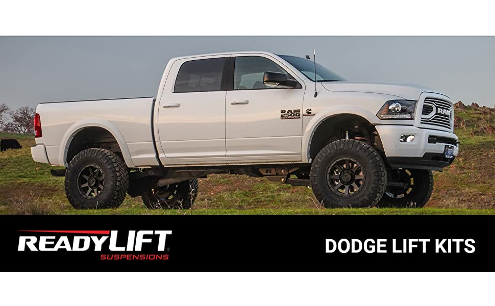 2.5in Black Front Leveling Lift Kit For Dodge Ram 1500 2500 3500 2WD 1994-2018