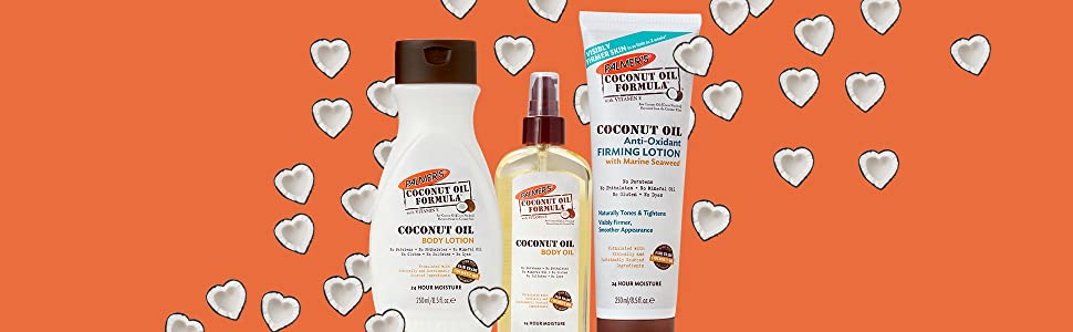 coconut oil line of products