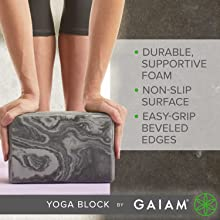 Durable Supportive Foma, non slip surface