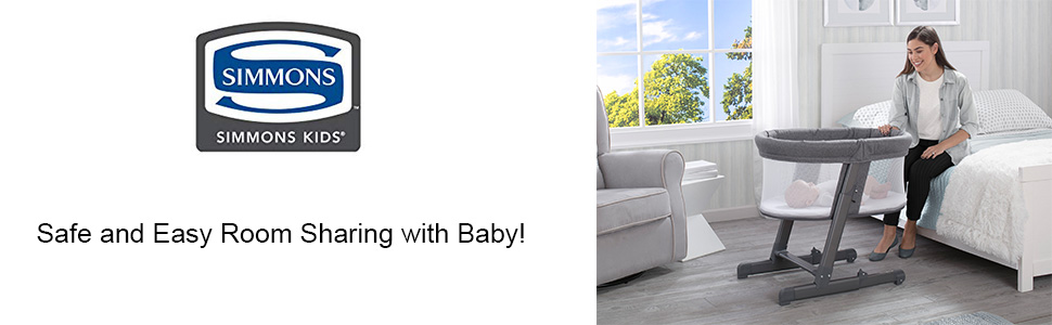 baby bassinet sleeper infant simmons room sharing by your side