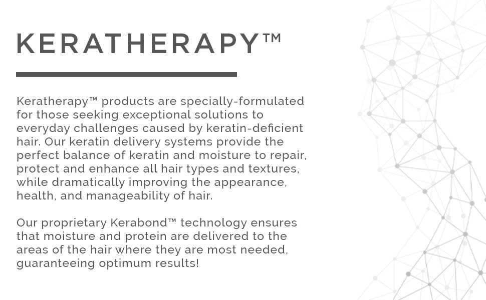 KERABOND Our proprietary KERABOND technology is a refined and enhanced