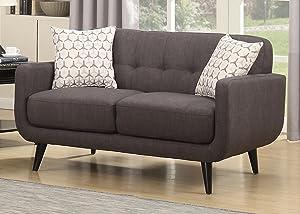 tufted loveseat sofa set