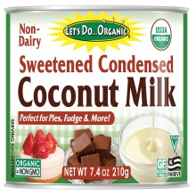 Let's Do Organic Sweetened Condensed Coconut Milk