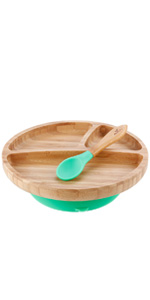Toddler Plate & Spoon Set