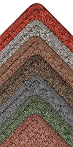 rubber backed mat heavy duty entry rug