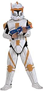 Deluxe Child Commander Cody Costume