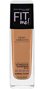 dewy finish foundation for smooth skin