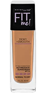 dewy finish foundation for smooth skin