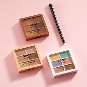 nyx professional makeup correct, conceal, contour palette