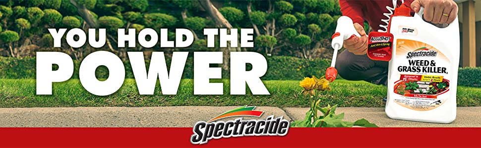 Spectracide You Hold The Power Weed & Grass Killer
