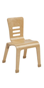 14in Bentwood Chair - Natural