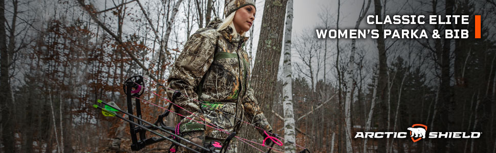 ArcticShield, Classic Elite Parka, Jacket, Cold Weather, Women's, Heat Retention, Winter, Hunting