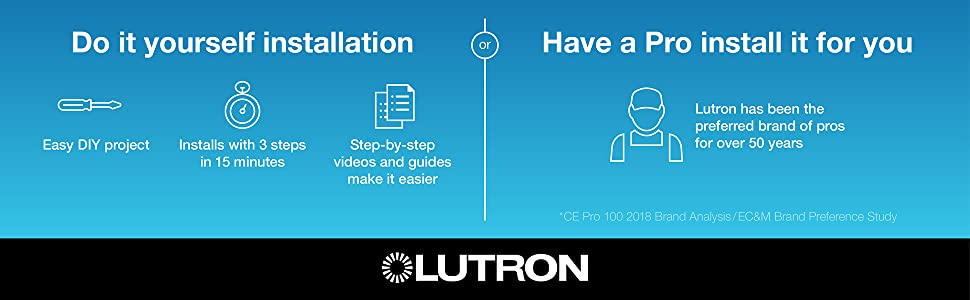 Lutron, Dimmer Switch, Lutron Dimmer, Dimmer, LED Dimmer, LED Dimmer Switch, Light Dimmer, Dimming