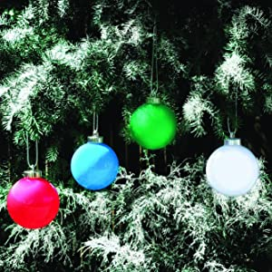 christmas, globes, pulsing, decorations, ornament, outdoor,