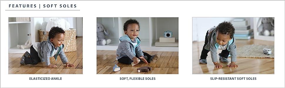 robeez, stride rite, zutano, freshly picked, baby bootie, baby shoe, baby boy, crib shoe, baby gift