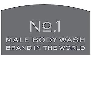 No. 1 Male Body Wash Brand in the World*