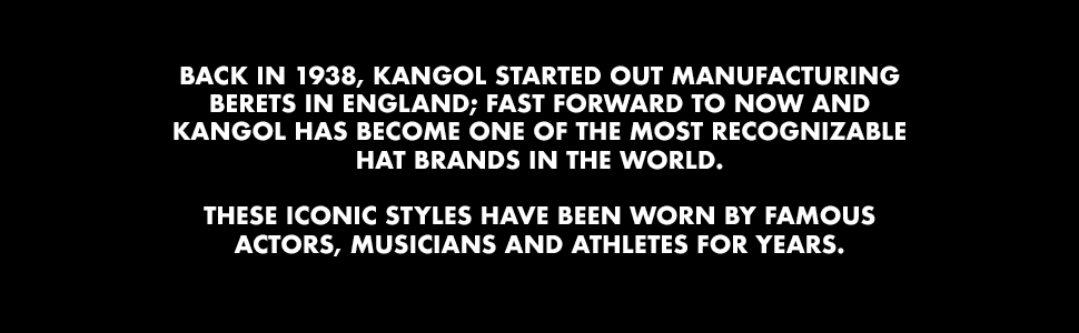 Kangol History