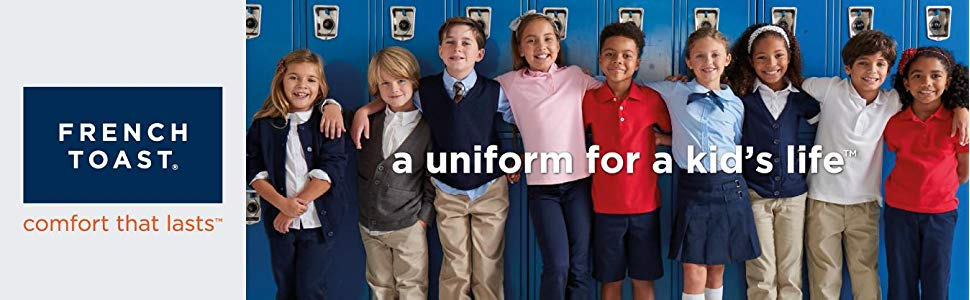 school uniforms kids clothes french toast