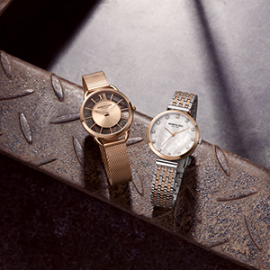 stainless steel mens womens watches