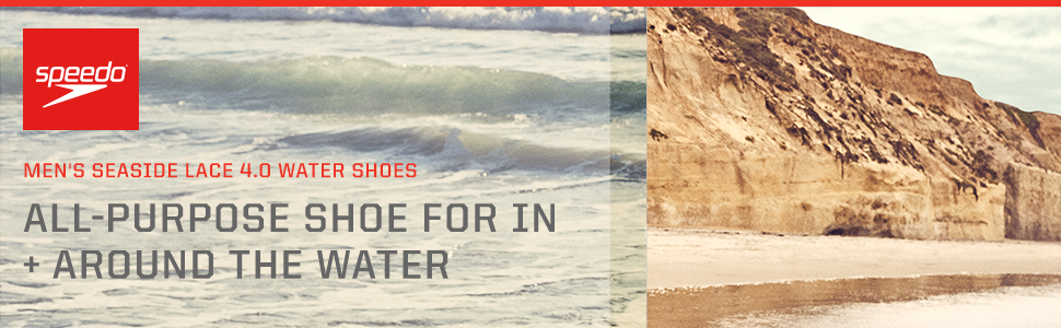 Men's Seaside Lace 4.0 Water Shoes Main Banner