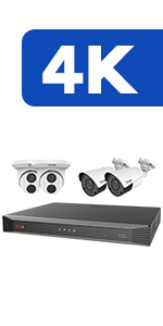 8Ch. 4K Home Security Systems
