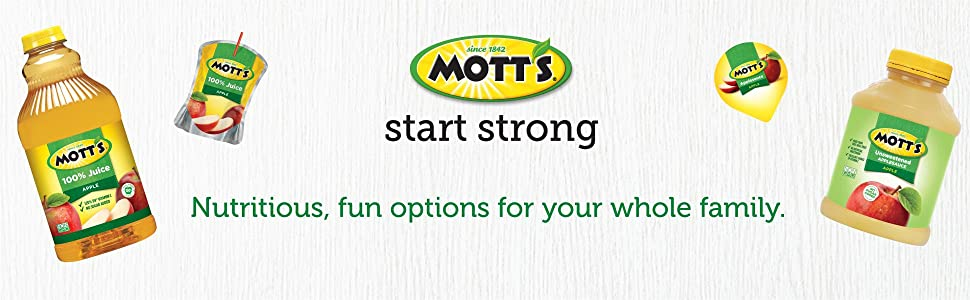 Mott's - Nutritious, fun options for your whole family