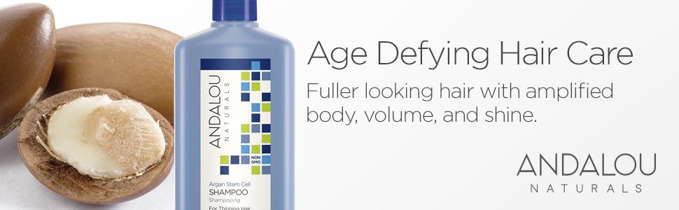 Andalou Naturals Argan Stem Cell Age Defying Shampoo 11.5 Ounce