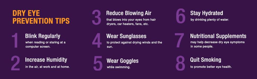 dry eye prevention tips