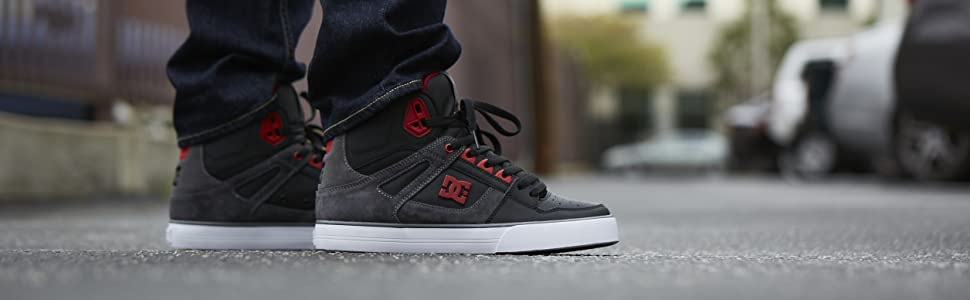DC Shoes, Pure High Top, sneaker, skateboarding