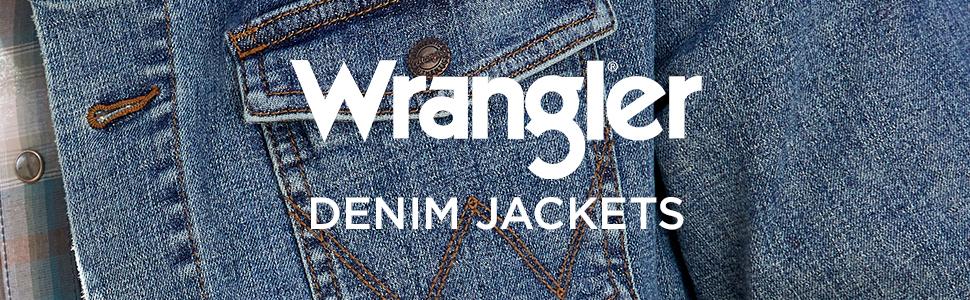 Wrangler Western Unlined Denim Jacket