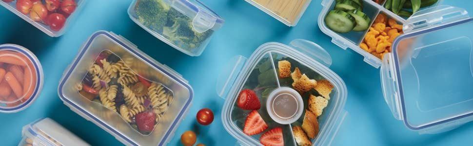 food storage container, lunch container, lunch box, bento box, container with lid, tupperware