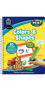 Power Pen Learning Book, Colors & Shapes