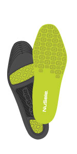 nusole sport insole, athletic insole, foam insole, gel insole, foot pain relief, running insole