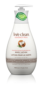 Live Clean Coconut Milk Body Lotion