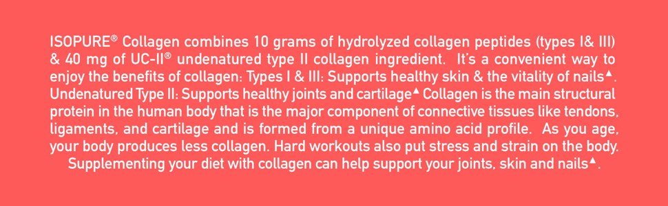 Isopure Collagen Middle