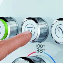 Push-Button Shower Control