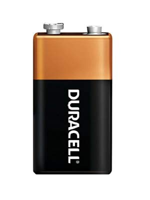 Duracell CopperTop 9 Volt Alkaline Battery