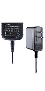 Biswaye 20V Lithium Battery Charger LCS1620 for Black & Decker 16V 20V Lithium Ion Battery LBXR20