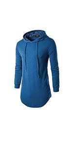 longline hoodie