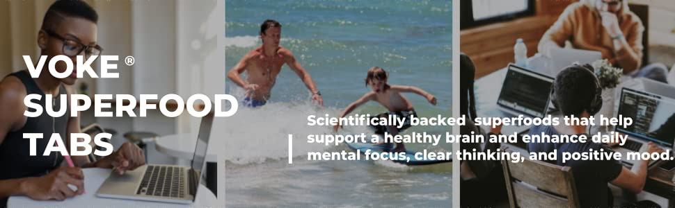 Scientifically supported superfoods that help your brain maintain optimal daily mental focus & mood