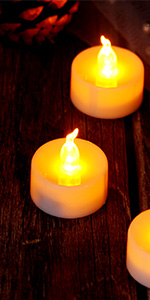 Led tealight candles