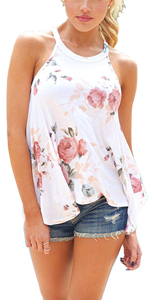 white tops for women casual