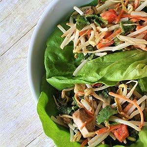 FreshJax Organic Spices Spicy All-Purpose Seasoning Lettuce Wraps Recipe