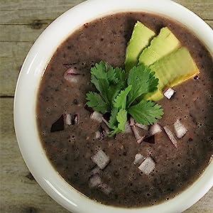 FreshJax Organic Spices Spicy All-Purpose Black Bean Soup Recipe