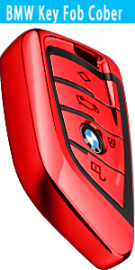 bmw key cover _red