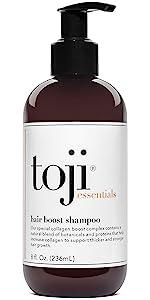 Toji Essentials Hair Boost Shampoo with Special Collagen Boost Complex