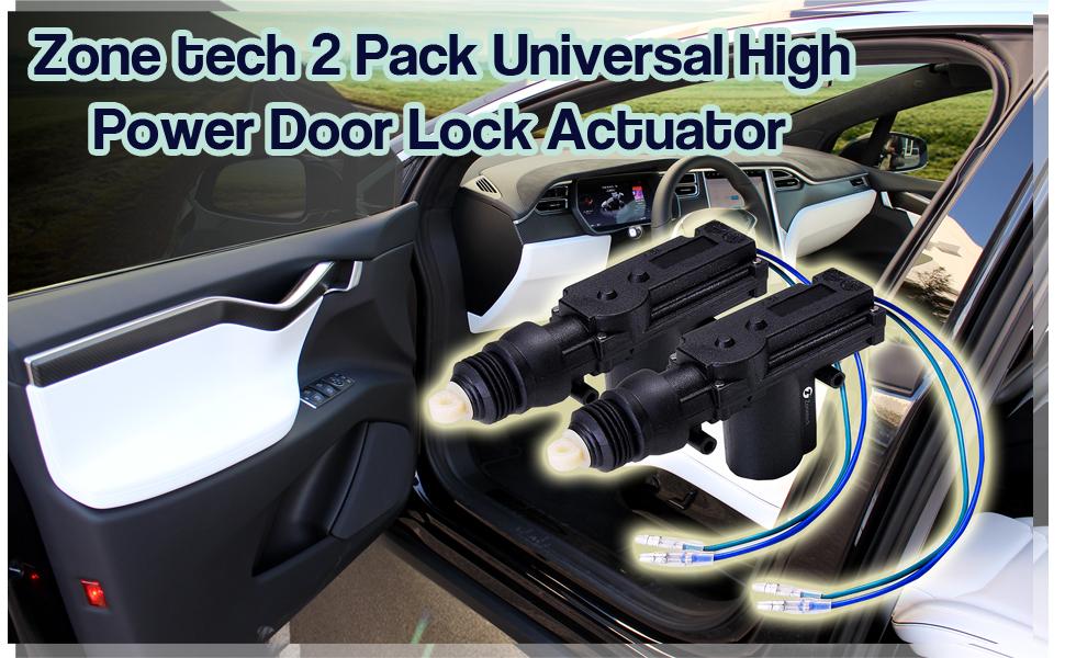 2-Pack Universal High Power Door Lock Actuator