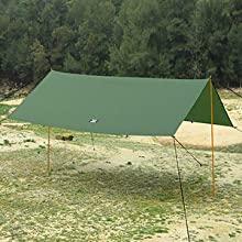 green tarp