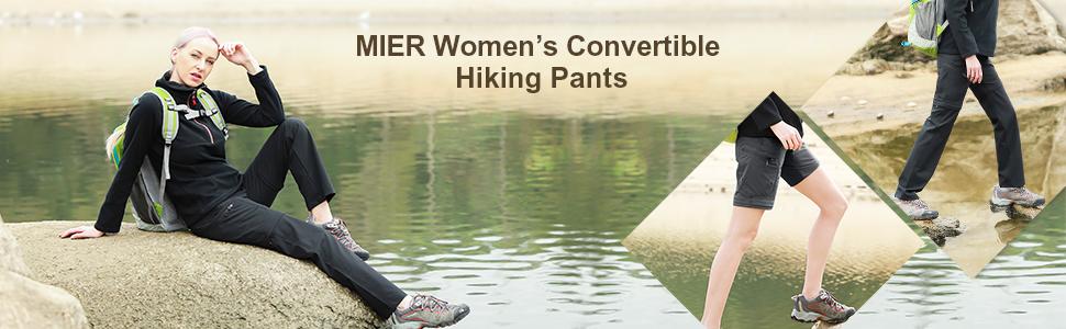 women zip off hiking pants
